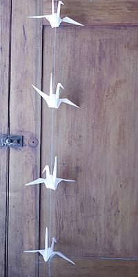 Origamicrane_hanging