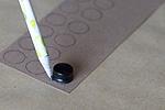 Fabricstam_drawcircles_cardbd
