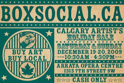 BoxSocial Holiday Market Card