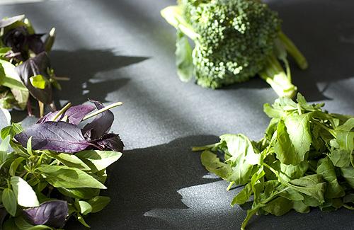 CSA_wk3_broccoli_arugula