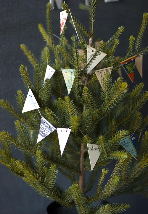 Mini garland for mini treef papiervalise.typepad.com