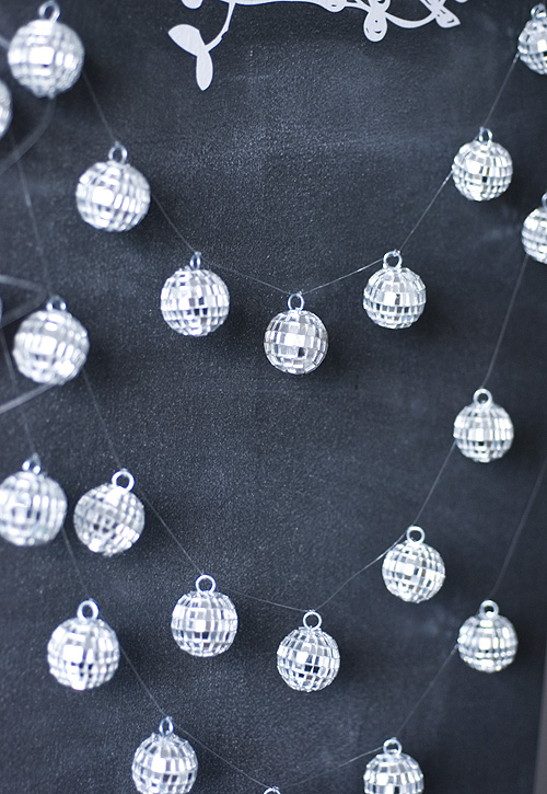 Mini disco ball garlandr papiervalise.typepad.com